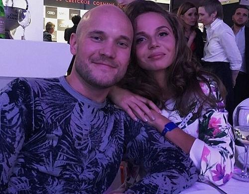Владимир Селиванов и его девушка Виктория Маркина