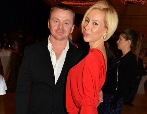 Владимир Сычев и его жена Алеся Великанова