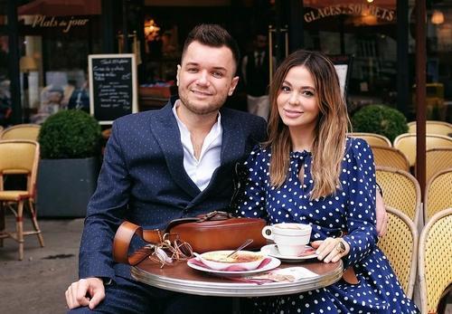 Яна Фисти и её муж Евгений Фист