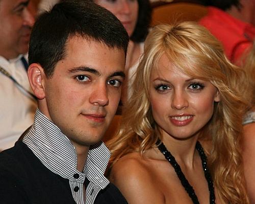 Янина Студилина и её муж