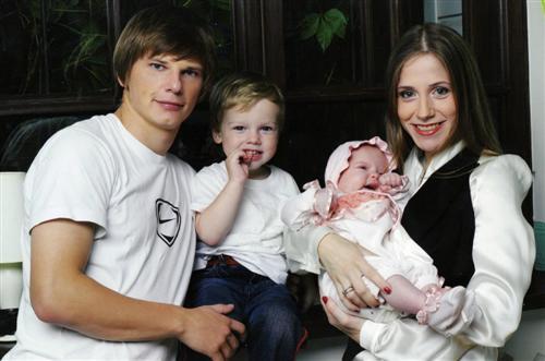 Юлия Барановская жена Андрея Аршавина