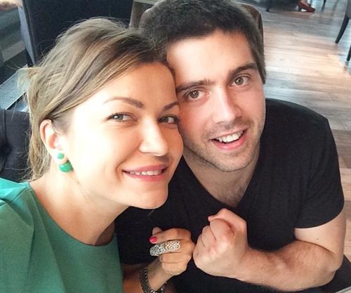 Дизайнер Юлия Курепова и её муж