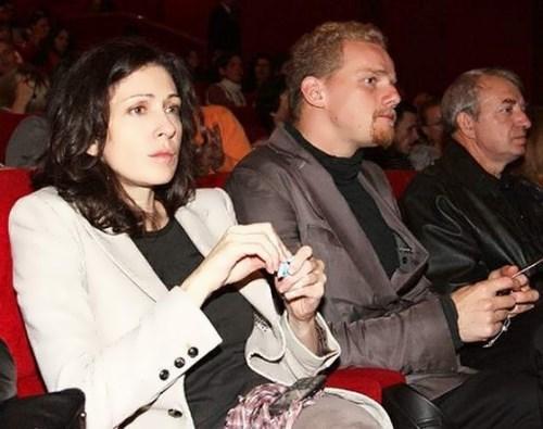 Юрий Колокольников и его жена Ксения Раппопорт