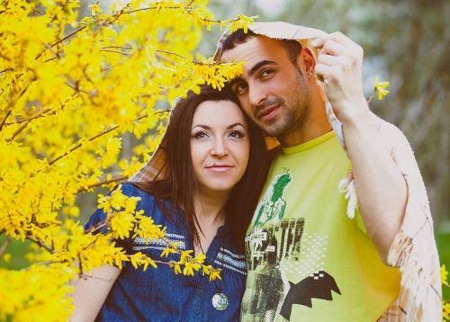 Юрий Рыбак из Танцев и его жена