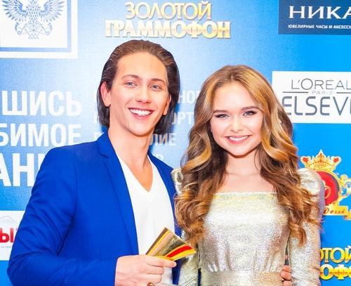 ЮрКисс получил Золотой Граммофон за песню со Стефанией Маликовой