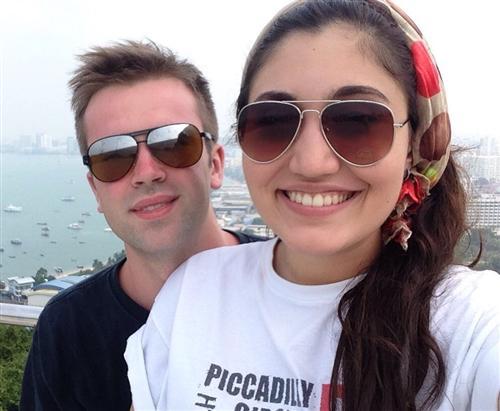 Злата Отиева вышла замуж в 19 лет (на фото с мужем Юрием Козловым)